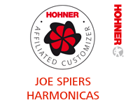 Joe Spiers - Hohner Affiliated Harmonica Customizer
